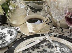 Bridal trends transform grandma's china from vintage to vogue