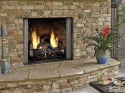 Enhance your outdoor space with an outdoor fireplace