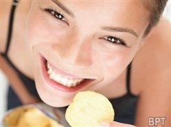Salty snacks reduce stress