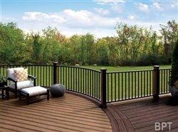 Five steps to create a customized outdoor living space with railing