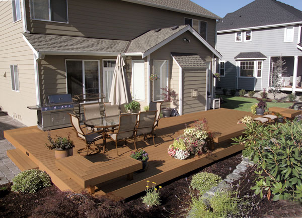 composite decking can look just like real wood